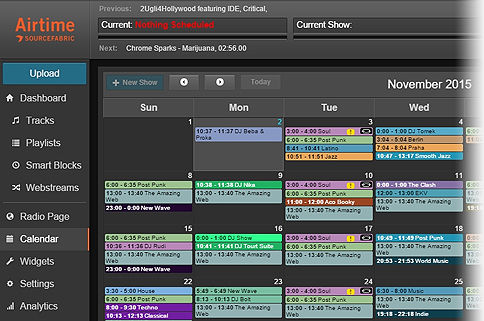 Scheduling radio shows with Airtime Pro