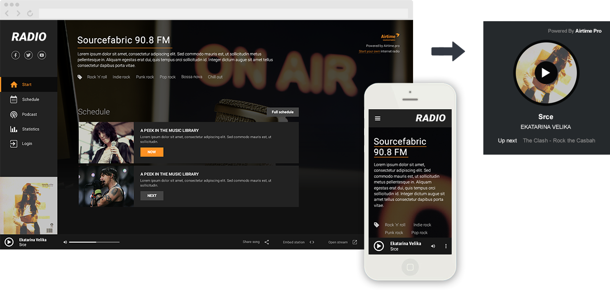 Starting an internet radio station with Airtime Pro