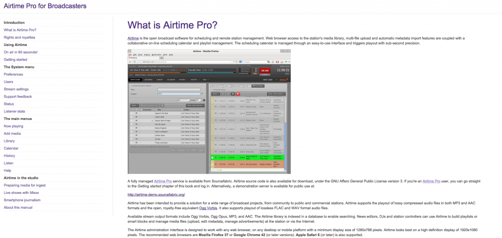 Airtime Pro user manual