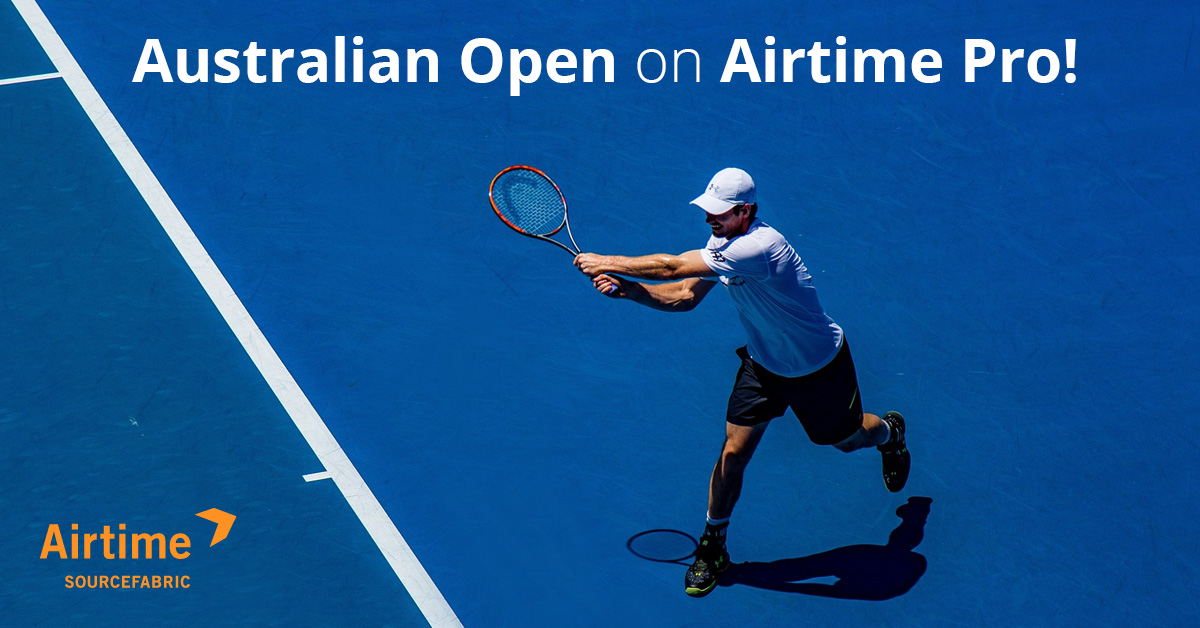 Broadcasting the Australia Open with Airtime Pro