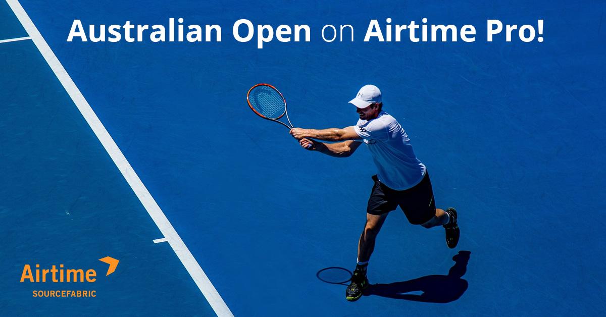 Australian Open on Airtime Pro