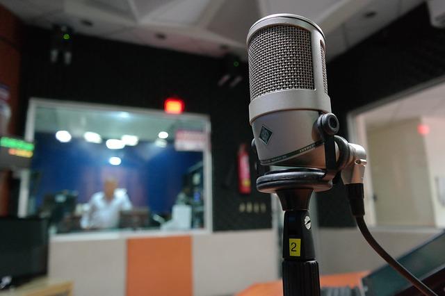 Internet radio studio